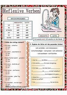 german worksheets verbs 19737 reflexive verbs german german grammar learn german german language learning