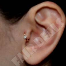 3 Clear Diamante Cartilage Earring Cartilage