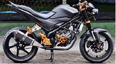 Cb150r Modif Supermoto by Modifikasi Cb150r Terbaru New Facelift Fighter