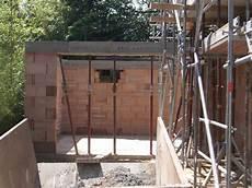 dachaufbau garage baubericht dachstrift garage gemauert und dach abgedichtet