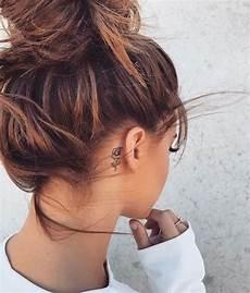 Hinterm Ohr - tiny idea weheartit tattoos piercings