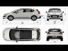 Peugeot 3008 Dimensions