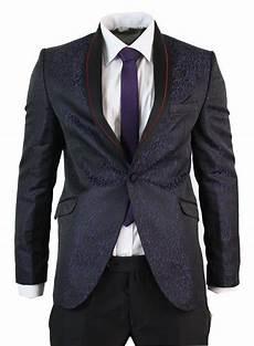 costume homme noir bordeaux violet veste et