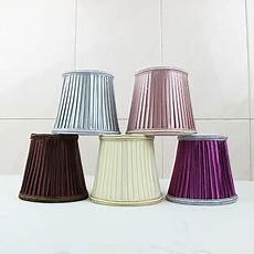 fashion cover for crystal candle bulb pendant light wall l fabric cover handmade cloth