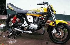 Modifikasi Motor Rx King by Ide Modifikasi Yamaha Rx King Gahar Menyeramkan Bak Setan