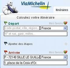 Locations De Vehicule Voitures Guide Michelin Itin 233 Raire