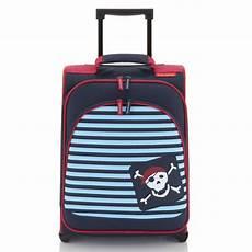 travelite youngster kindertrolley pirat 43 cm 2 rollen mit
