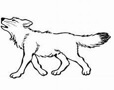 Malvorlage Wolf Einfach Wolf Zum Ausmalen