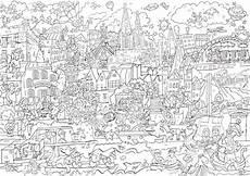 wimmelbilder geschichte malvorlagen coloring and malvorlagan