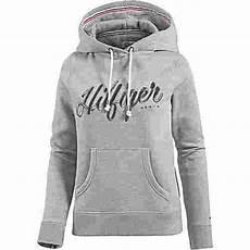 hilfiger hoodie damen graumelange im shop