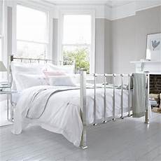 White Metal Bed Bedroom Ideas by White Minimalist Metal Bed Frame Minimalist Bedroom Design