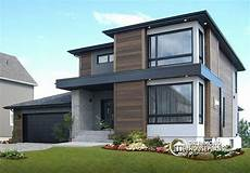 3 modern homes in many shades of affordable contemporary modern home plan with family