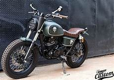 Modifikasi Motor Kawasaki W175 by Modifikasi Kawasaki W175 Cafe Racer Scrambler Tracker