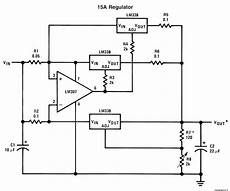 Ic Lm338 Application Circuits Circuit Projects