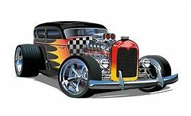 Hot Rod Stock Illustrations – 3005