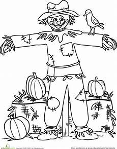 fall coloring worksheets for kindergarten 12917 fall 7 worksheets kindergarteners education