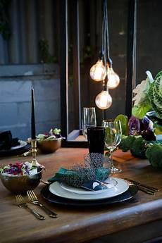striking purple black gold wedding decor ideas