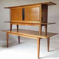 credenza table japanese inspired oak credenza and dining table by colette