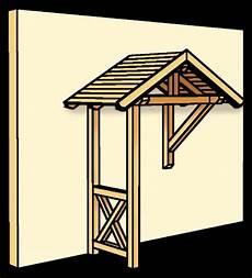 Holz Vordach Skanholz 171 Siegen 187 F 252 R Haust 252 Ren Satteldach