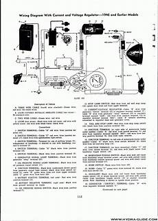 064 wiring diagram with regulator 1946 and earlier