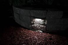 led hardscape lighting 8 quot deck step and retaining wall lights w mounting plates 185