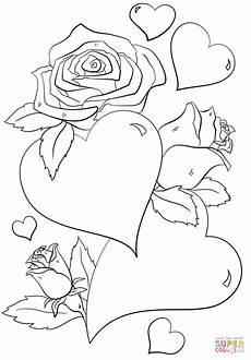 Malvorlagen Herzen Flammen раскраска сердечки и розы раскраски для детей печать онлайн