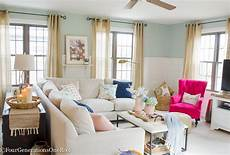 Home Decor Ideas For Living Room Blue by Blue Pink Living Room Decorating Ideas Four