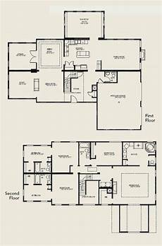 4 bedroom double storey house plans lovely 2 story 4 bedroom house floor plans new home