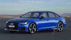Rumours Of C8 Audi Rs6 Sedan Spark Rendering