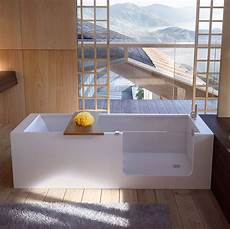 vasche glass bath vasca in hardlite con accesso facilitato