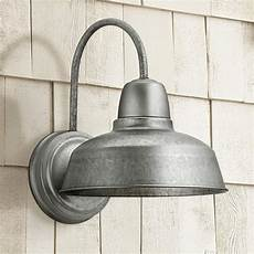 urban barn 13 quot high galvanized steel outdoor wall light 4m534 ls plus
