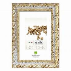 bilderrahmen 5170 wei 223 gold 20 x 30 cm holz bauhaus
