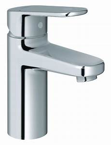 Mischbatterie Dusche Grohe - grohe europlus monobloc single lever chrome basin mixer