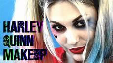 harley quinn makeup tutorial squad