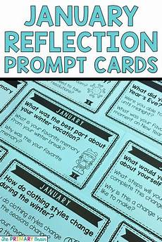 worksheets days and months 18824 january reflection prompt cards kindergarten writing prompts 2nd grade writing student