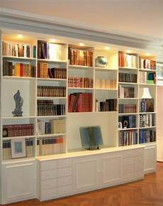 bibliothèque moderne sur mesure 201 pingl 233 par ocre bleu sur rangement etageres