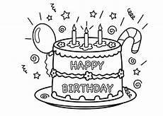 Malvorlagen Geburtstag Ideen Kostenlose Geburtstagstorten Bilder Zum Ausmalen