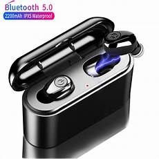 Wireless Earbuds Bluetooth Earphone 2200mah Power by Youbina Tws True Wireless Earbuds 5d Stereo Bluetooth