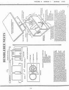 bumble bee bombus nest box plan bee boxes nesting