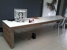 scrivania design in cartone per casa o ufficio 55100
