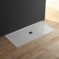 doccia in resina piatto doccia 80x140 a filo pavimento in resina sottile