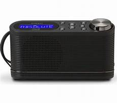 buy play10 portable dab fm radio black free