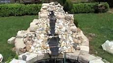 Gartengestaltung Ideen Kleine Wasserfall Im Garten Bauen