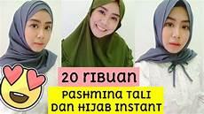 Cuma 20 Ribuan Pashmina Dan Jilbab Instan Langsung Pakai
