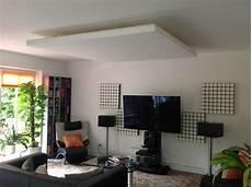 pimp my wohnzimmer mit selbstbau deckensegel akustik
