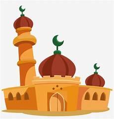 Masjid Animasi Png Gambar Islami