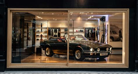 Buy A Classic From Aston Martin's Swanky New London