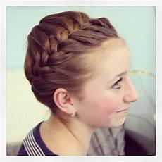 starburst crown braid updo hairstyles cute hairstyles