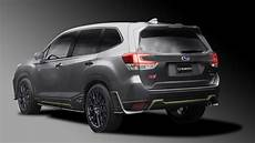 subaru s sti division has a tuned forester hybrid for the