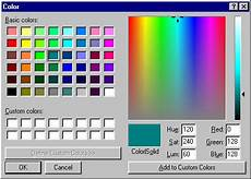 things my children will never know about color selector